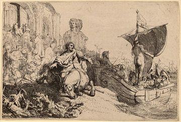 Rembrandt van Rijn  Le Bateau de la fortune