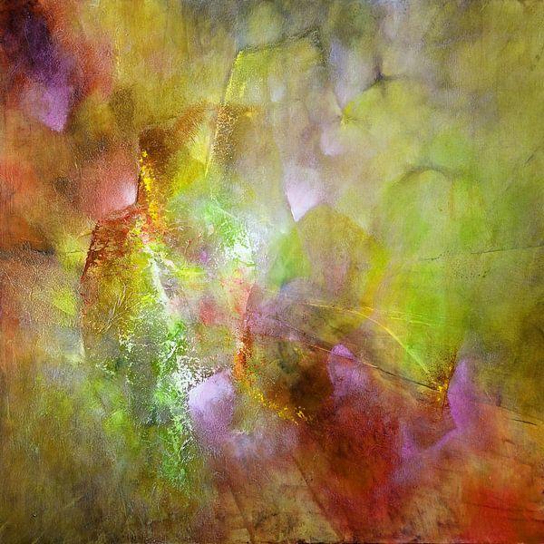 Het licht: magenta en groen van Annette Schmucker