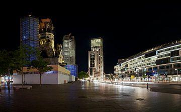 Breitscheidplatz bij nacht van Heiko Kueverling