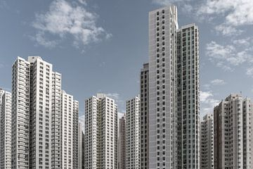 Hong Kong Wolkenkrabbers van Govart (Govert van der Heijden)