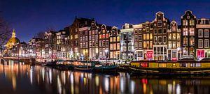 Amsterdam grachten en woonboten