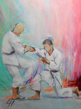Karate - Kumite von Lucia Hoogervorst