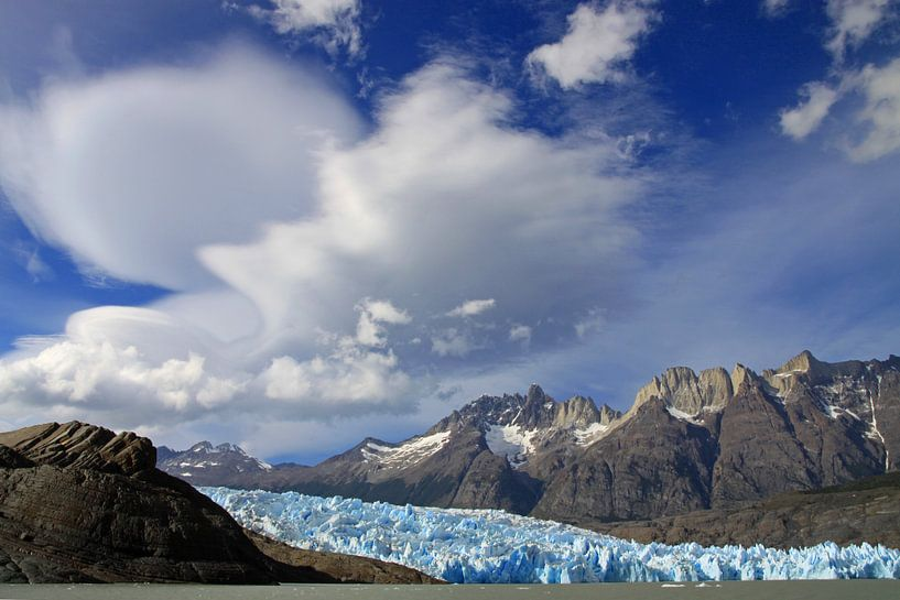 Grey gletsjer van Antwan Janssen