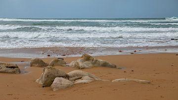 Strand in Portugal von Bert Bouwmeester