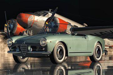 Alfa Romeo Spyder Hochleistungssportwagen