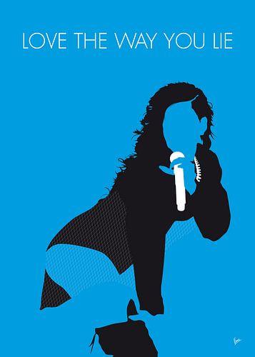 No179 MY Rihanna Minimal Music poster von