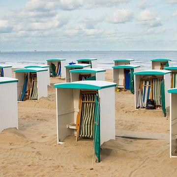maisons de plage sur Arjan van Duijvenboden