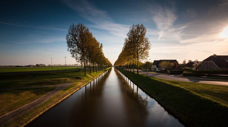 Uitzicht over de Hoofdvaart van Wim Slootweg