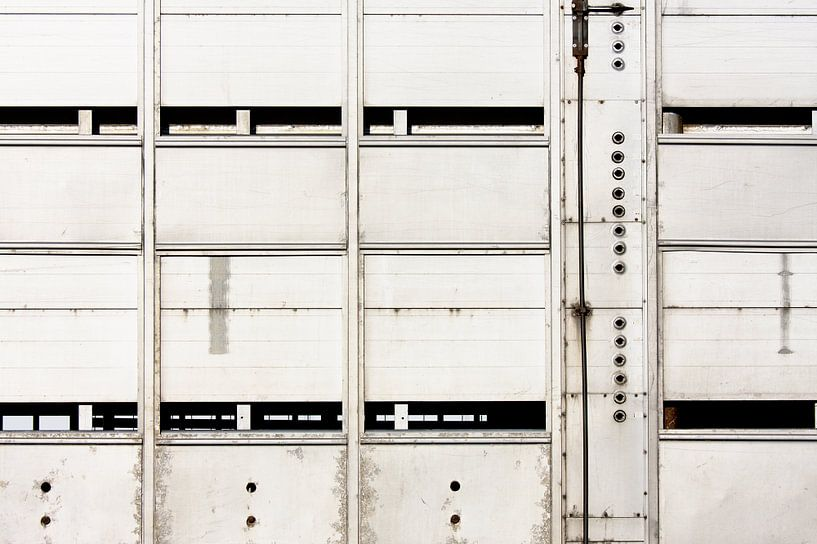 Vee vrachtwagen van Jan Brons