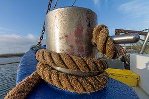 Vissersboot tros  van