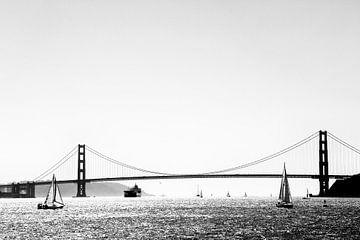 Uitzicht op de Golden Gate Bridge