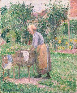 A Washerwoman bei Éragny, Camille Pissarro