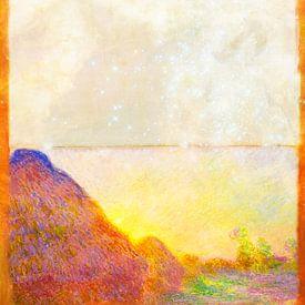 Monet Rothko und Zanolino. Heu Starlight von Giovani Zanolino