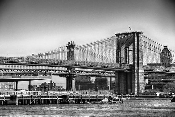 New York Brooklyn Bridge van John ten Hoeve