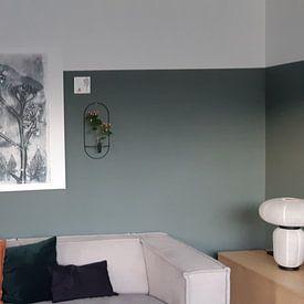 Photo de nos clients: Plantes botaniques et fleurs print Whistlewort sur Angela Peters, sur toile