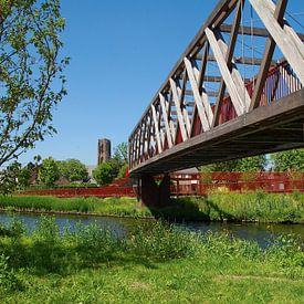 pont Wilhelminakanaal Oirschot sur tiny brok