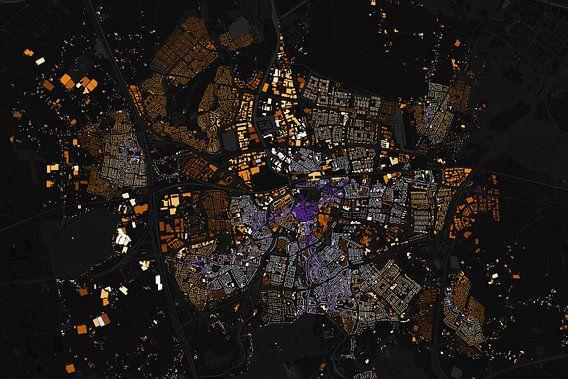 Kaart van Breda abstract