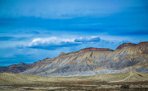 Prachtige kleuren in het woestijnlandschap in Colorado, Amerika