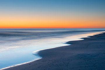 Rimpeling op het strand - Natuurlijk Ameland van Anja Brouwer Fotografie