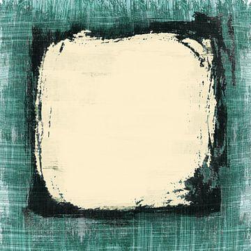 Abstract vierkant van Dray van Beeck