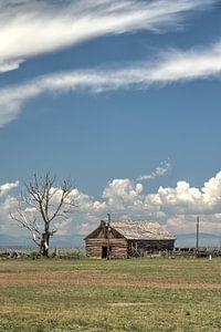 Boeren schuur, colorado
