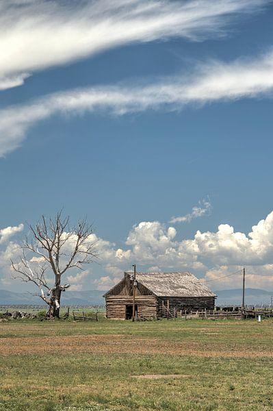 Boeren schuur, colorado van Afke van den Hazel