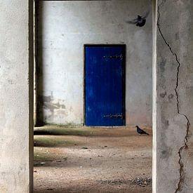 de blauwe deur van Yvonne Blokland