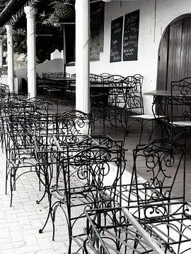 Verlaten restaurant von
