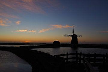 Molen Het Noorden Texel van Elly Rutten