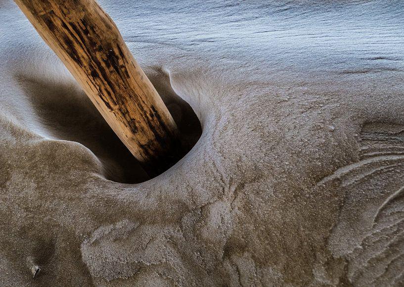 Dansende zandpaal von Ton C Kroon