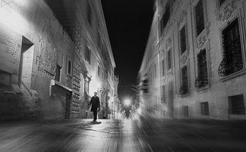 Valletta, Malta - tijdreiziger van