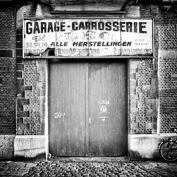 Garage van Johan van den Tol