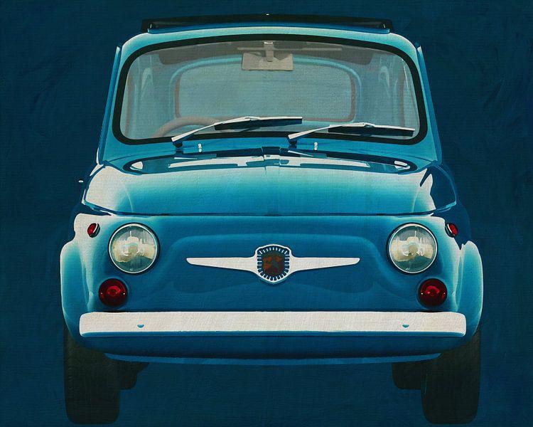 Fiat Abarth 595 1968 van Jan Keteleer