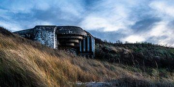 Bunker in het duingebied van Meijendel van MICHEL WETTSTEIN