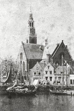 Historisch: Groote Kerk van Maassluis van Maurice Verschuur