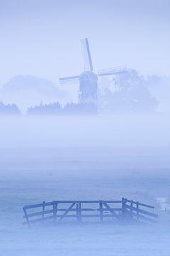 Misty Morning Blues van Halma Fotografie