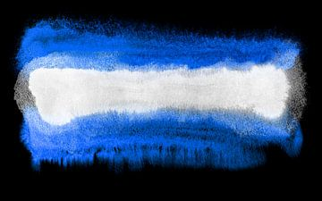 Symbolische nationale vlag van El Salvador van Achim Prill