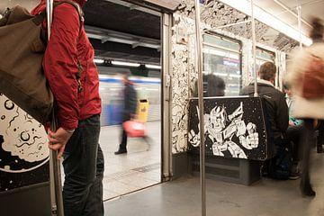 Metro Amsterdam - Wibautstraat van Ramona Stravers