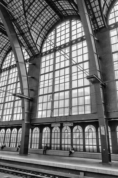 Perron Antwerpen Centraal van Don Fonzarelli