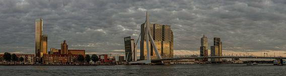 Skyline Rotterdam van Hans Kool