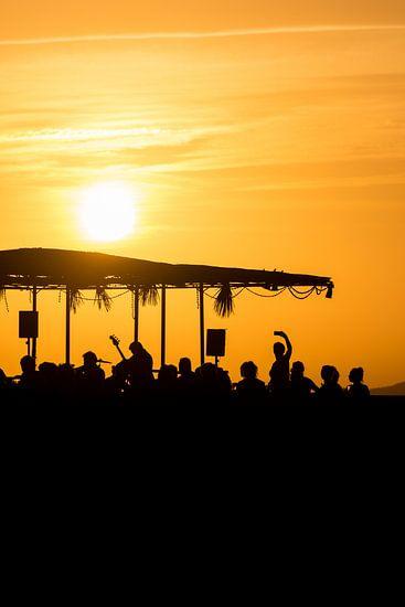 Sunset Ashram 1 van Desh amer