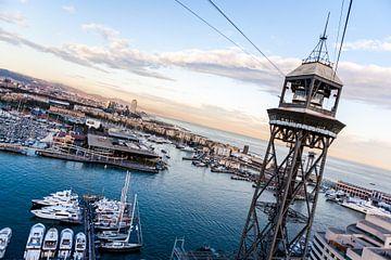 Barcelona Harbour van Joep Oomen