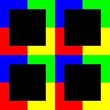 Color-Permutation | ID=12 | V=50 | P #01 | D-RBGY van Gerhard Haberern