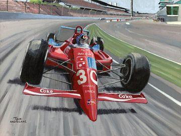 1990 Indy 500 Gewinnerin Lola Chevrolet #30 Arie Luyendijk (NED) von Adam's World