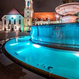 Bratislava bei Nacht von Martin Wasilewski