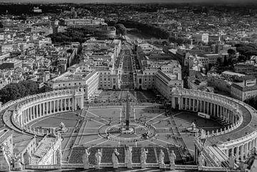 Sint Pietersplein Rome van Mario Calma