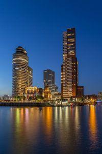 Rotterdam Skyline - Wilhelminapier - 3