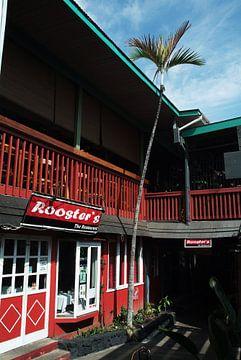 Rooster's Bar, Kailua Kona, Hawaii van Marcel Admiraal