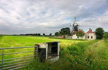 Dorf in die Niederlanden von Bo Scheeringa