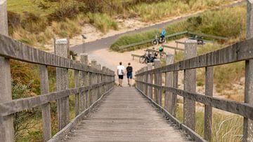 Traversée de plage sur Walcheren 2 sur Percy's fotografie